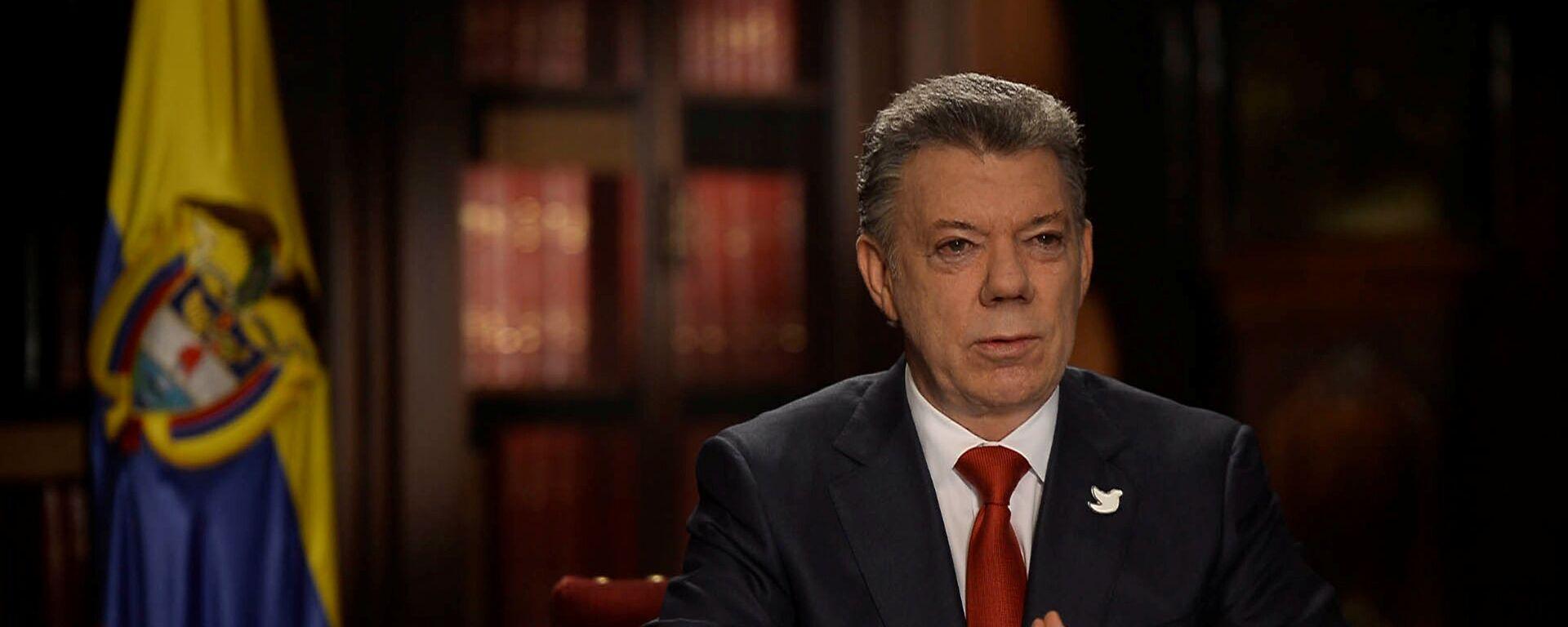 Juan Manuel Santos, presidente de Colombia - Sputnik Mundo, 1920, 12.02.2021