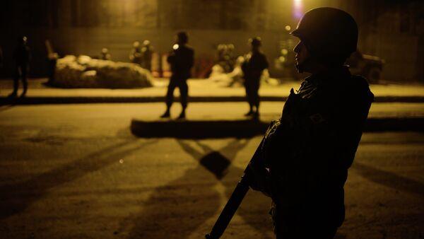 Policías brasileños - Sputnik Mundo