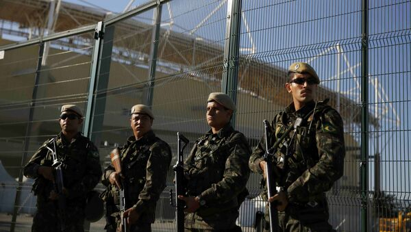 Los policías brasileños - Sputnik Mundo
