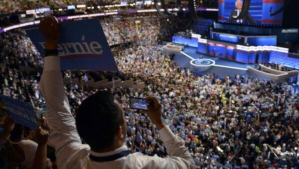 La convención del Partido Demócrata en Filadelfia - Sputnik Mundo