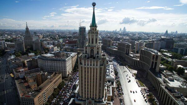 Гостиница  у Комсомольской площади в Москве - Sputnik Mundo