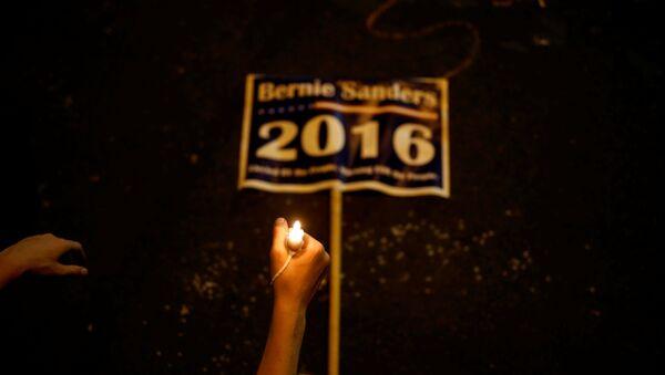 Partidarios de Bernie Sanders - Sputnik Mundo