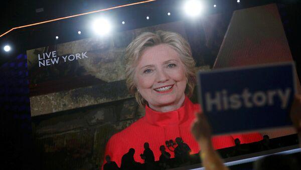 Hillary Clinton, candidata a la presidencia de EEUU por el Partido Demócrata - Sputnik Mundo