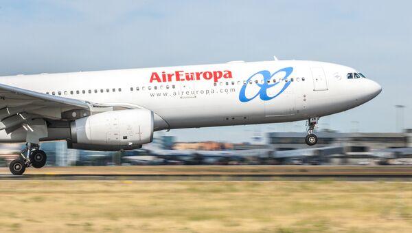 El avión de AirEuropa - Sputnik Mundo