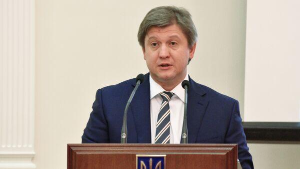 Alexandr Daniliuk, ministro de Finanzas de Ucrania - Sputnik Mundo
