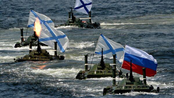 Las celebraciones del Día de la Armada rusa (archivo) - Sputnik Mundo