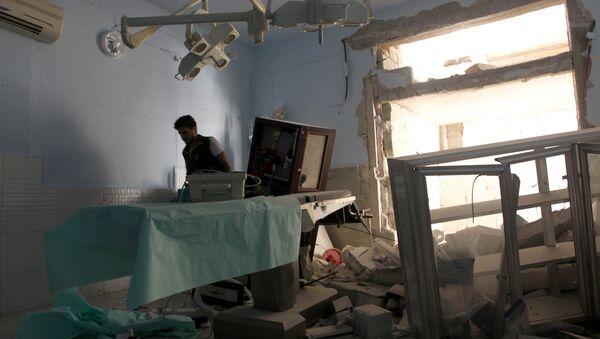 Un hospital en Latakia, Siria - Sputnik Mundo