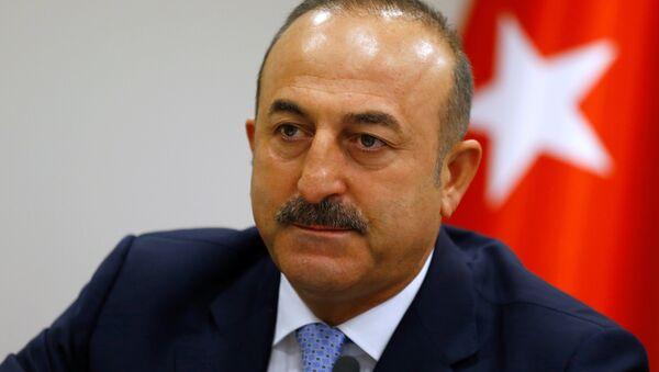 Mevlut Cavusoglu, ministro de Exteriores de Turquía - Sputnik Mundo