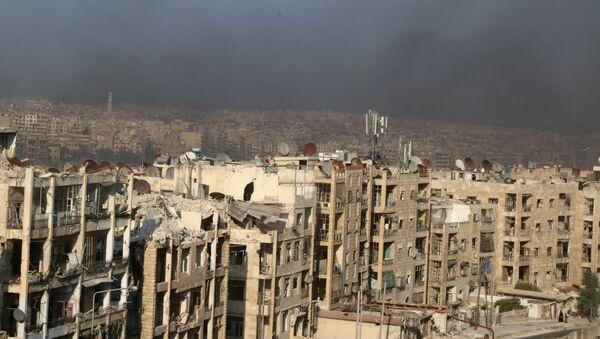 Situación en la ciudad de Alepo - Sputnik Mundo