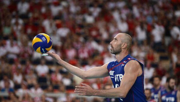 Voleibol (imagen referencial) - Sputnik Mundo