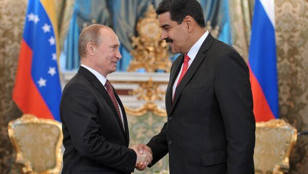Presidente de Rusia, Vladímir Putin, y presidente de Venezuela, Nicolás Maduro (archivo) - Sputnik Mundo