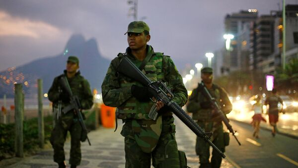 Soldados brasileños - Sputnik Mundo