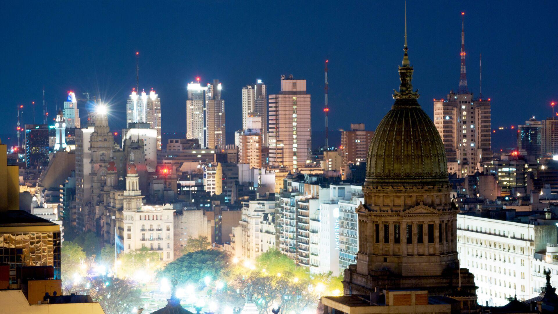 Buenos Aires, la capital de Argentina - Sputnik Mundo, 1920, 05.08.2021