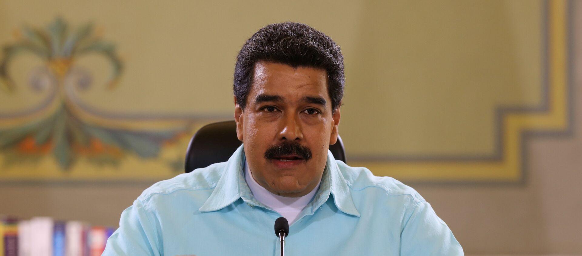 Nicolás Maduro, presidente de Venezuela - Sputnik Mundo, 1920, 21.01.2021