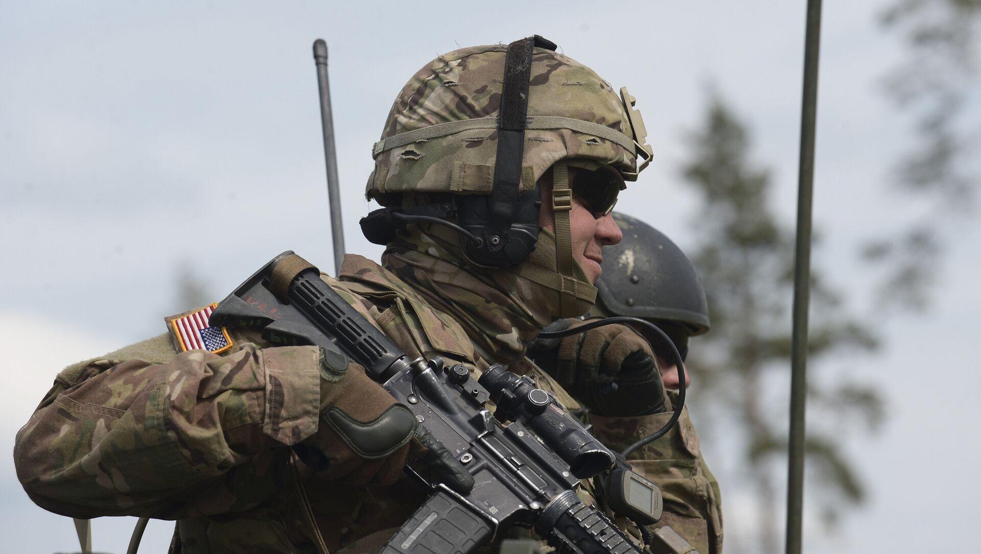 Учения НАТО Saber Strike 2016 в Эстонии - Sputnik Mundo, 1920, 09.02.2021