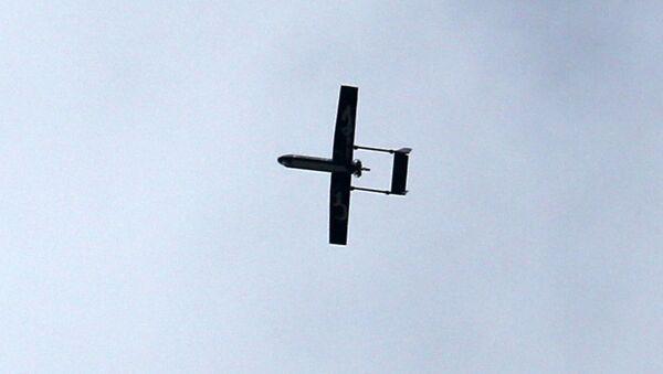 Un avión no tripulado - Sputnik Mundo