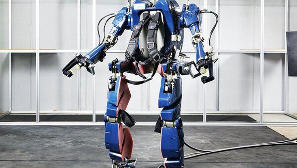 El futuro exoesqueleto de Hyundai - Sputnik Mundo