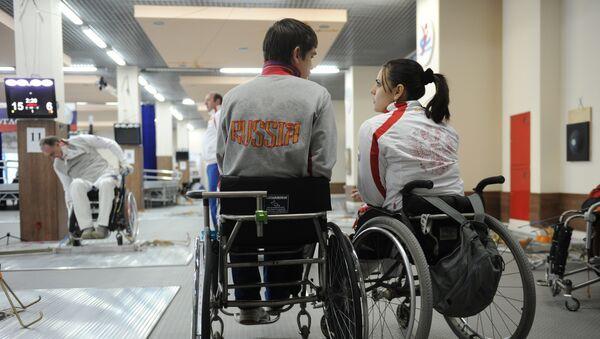 Los atletas paralímpicos rusos (archivo) - Sputnik Mundo