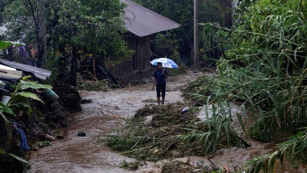 Consecuencias de la tormenta Earl en México - Sputnik Mundo