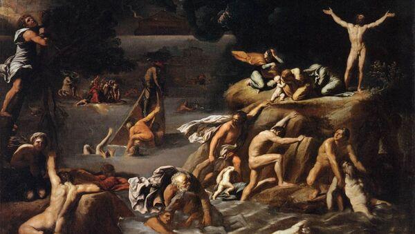 Pintura 'Diluvio Universal', 1616 - Sputnik Mundo