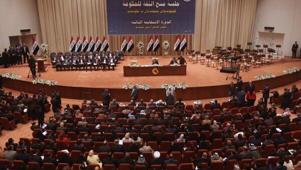 Iraqi Parliament. File photo - Sputnik Mundo