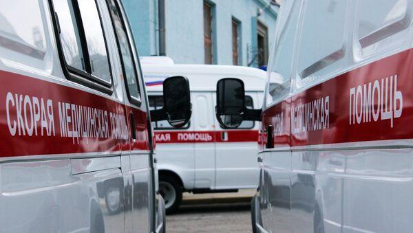 Ambulancias rusas - Sputnik Mundo