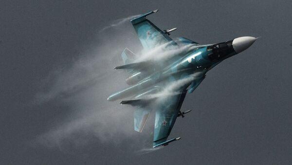 Caza Su-34 - Sputnik Mundo
