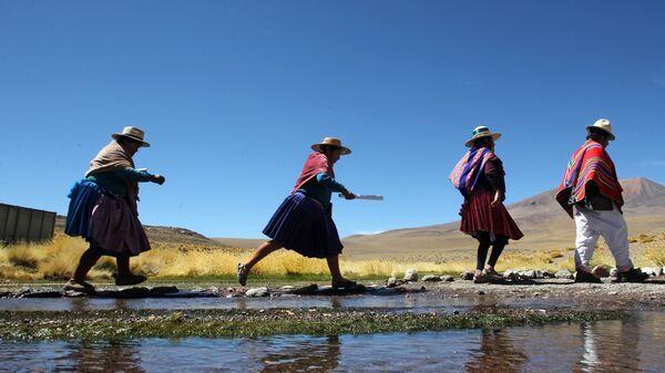 Indígenas aimará en Bolivia - Sputnik Mundo