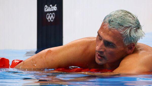 Ryan Lochte, el campeón olímpico de EEUU - Sputnik Mundo