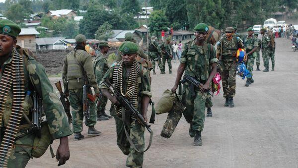 El ejército de la República Democrática de Congo - Sputnik Mundo