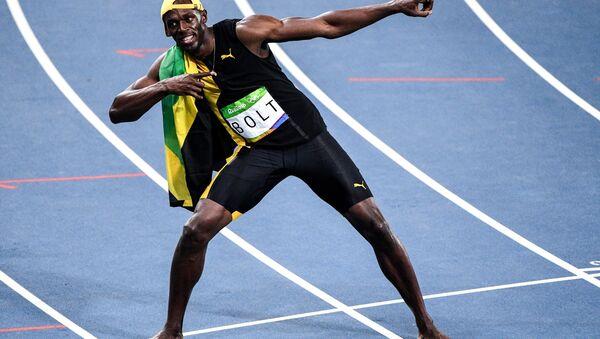 Usain Bolt, campeón olímpico, 2016 - Sputnik Mundo