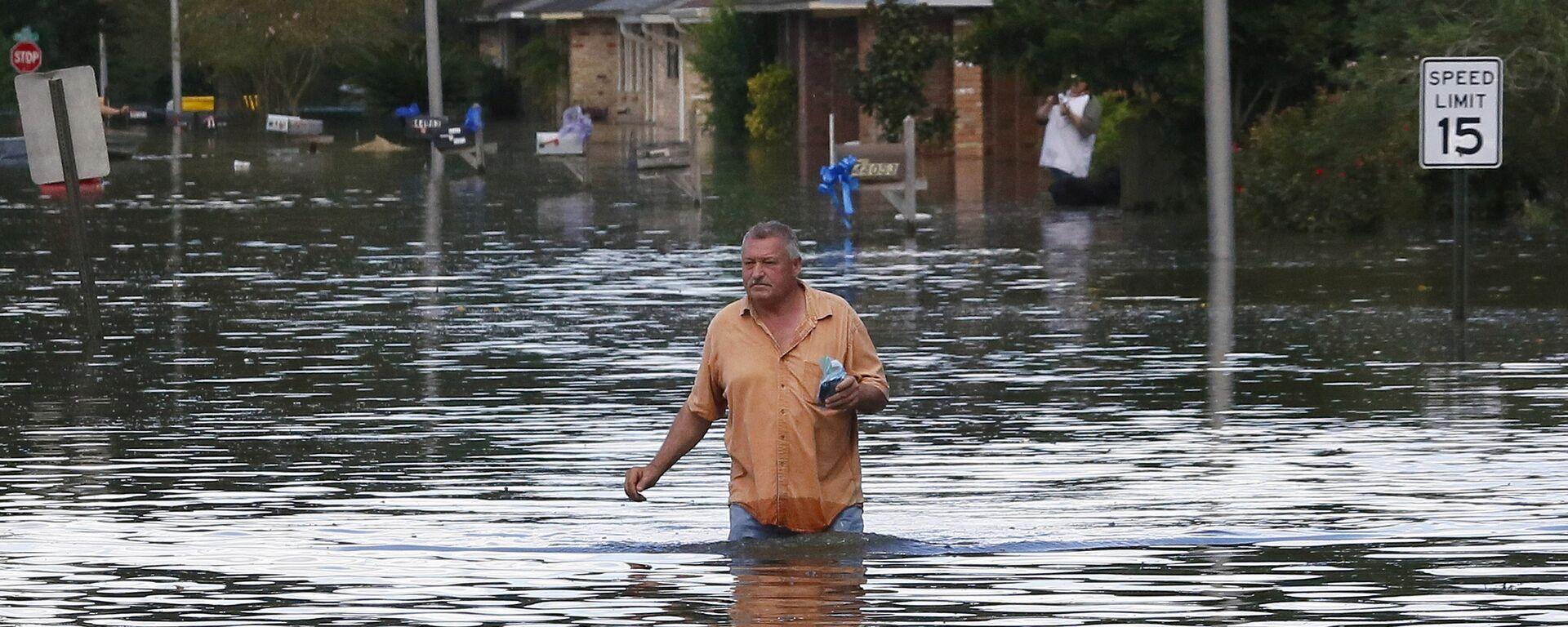 Inundaciones en Luisiana, EEUU - Sputnik Mundo, 1920, 13.09.2021