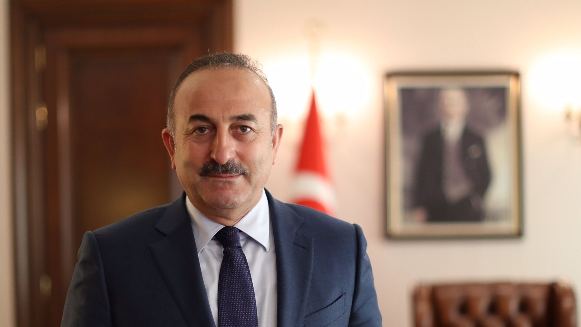 Mevlut Cavusoglu, el ministro de Exteriores de Turquía - Sputnik Mundo, 1920, 24.08.2021