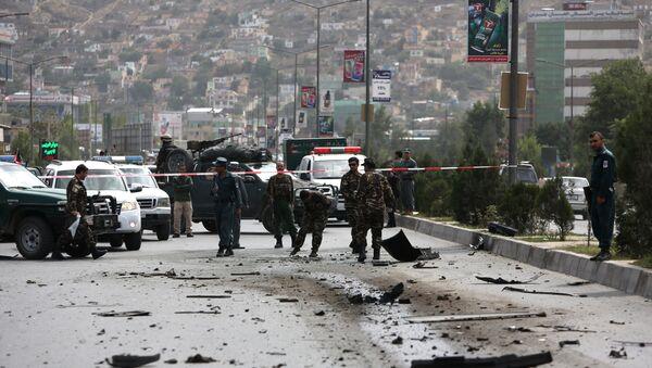 Lugar del ataque talibán en el este de Afganistán - Sputnik Mundo