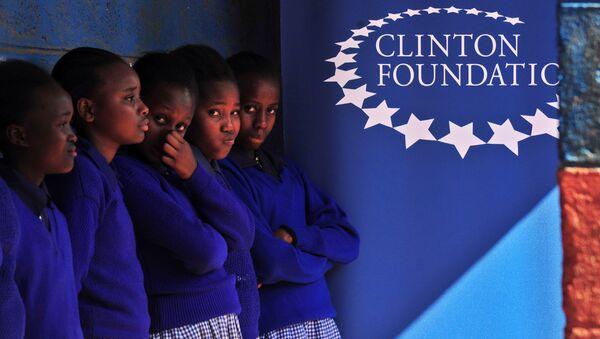 Logo de Clinton Foundation - Sputnik Mundo