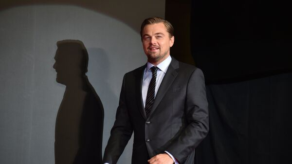 El actor Leonardo Di Caprio - Sputnik Mundo