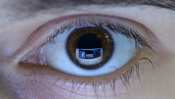una red social Facebook - Sputnik Mundo