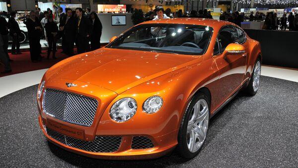 Bentley Continental (Archivo) - Sputnik Mundo
