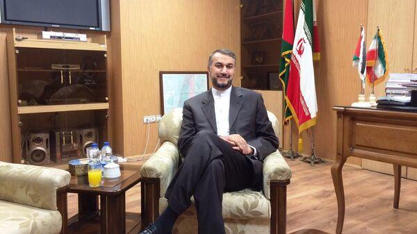 Amir Abdollahian, asesor del jefe del Parlamento iraní - Sputnik Mundo