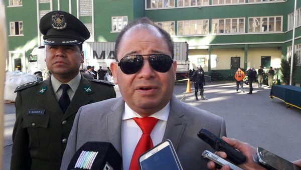 Carlos Romero, ministro de Gobierno de Bolivia - Sputnik Mundo
