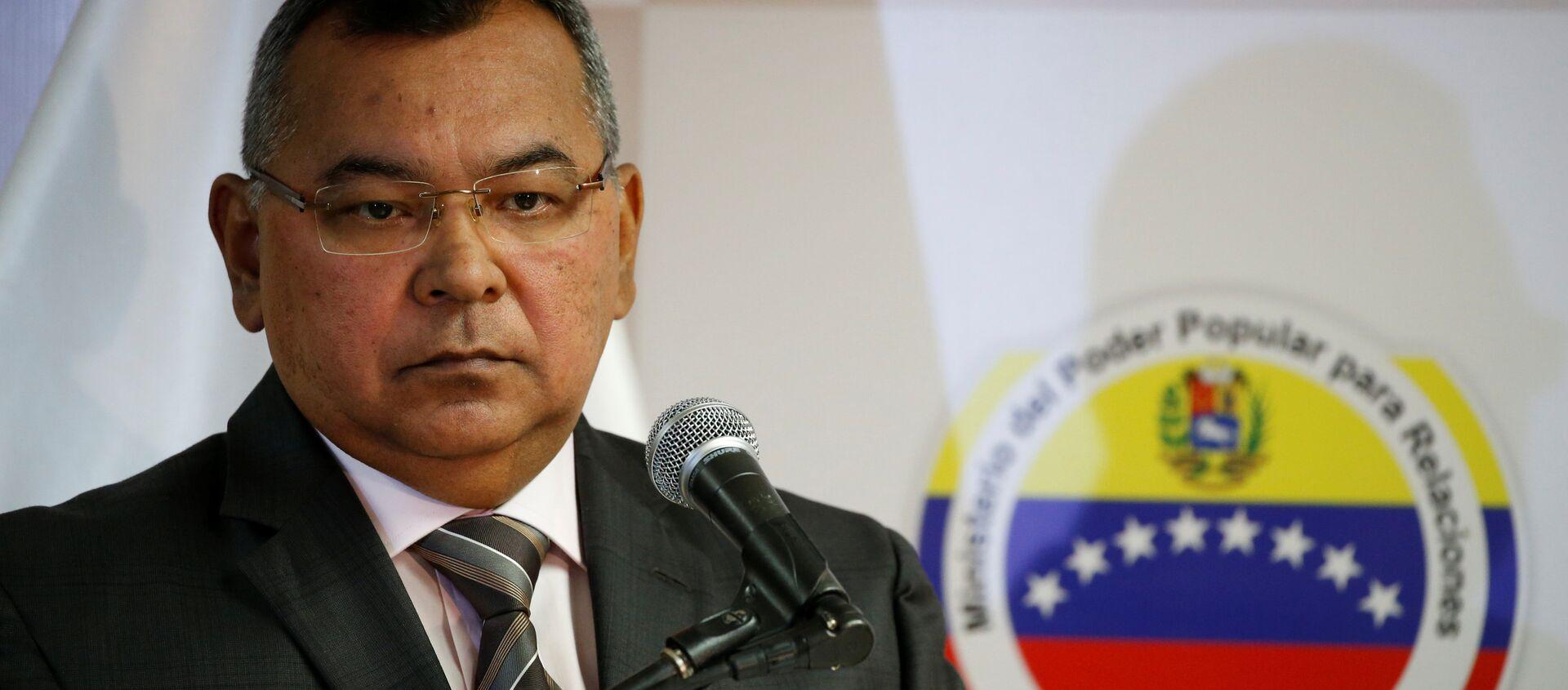 Venezuela's Interior and Justice Minister Nestor Reverol - Sputnik Mundo, 1920, 08.02.2021