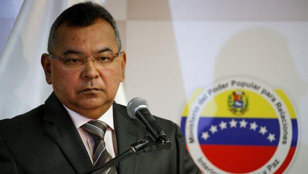 Venezuela's Interior and Justice Minister Nestor Reverol - Sputnik Mundo