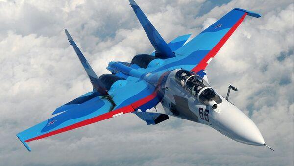 Caza Su-30 - Sputnik Mundo