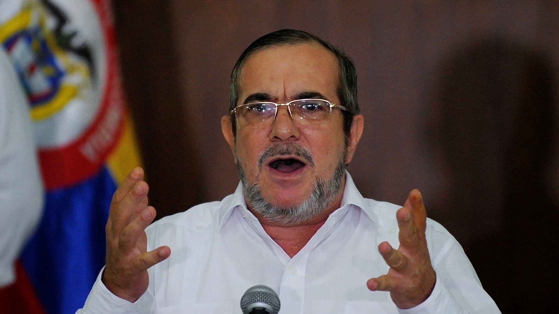 Rodrigo Londoño, alias 'Timochenko', el líder del partido colombiano FARC  - Sputnik Mundo, 1920, 03.02.2021