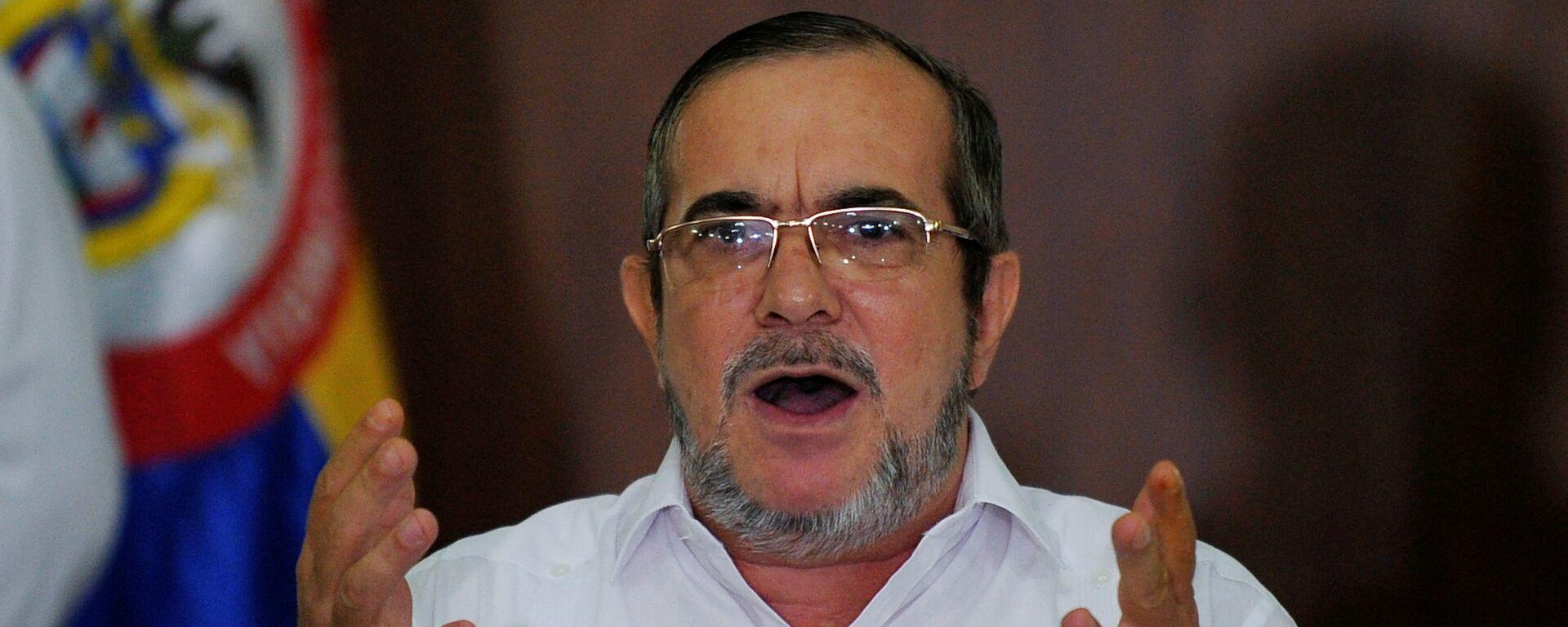 Rodrigo Londoño, alias 'Timochenko', el líder del partido colombiano FARC  - Sputnik Mundo, 1920, 27.03.2021