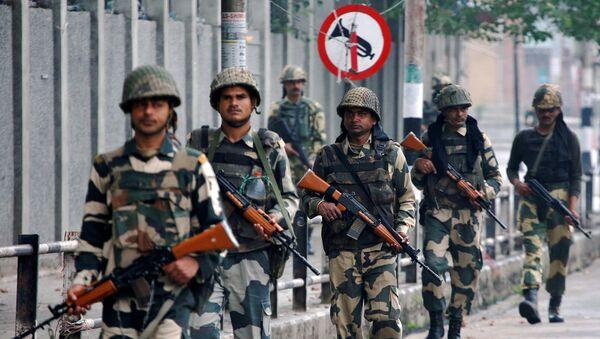 Soldados de la India en Cachemira  - Sputnik Mundo