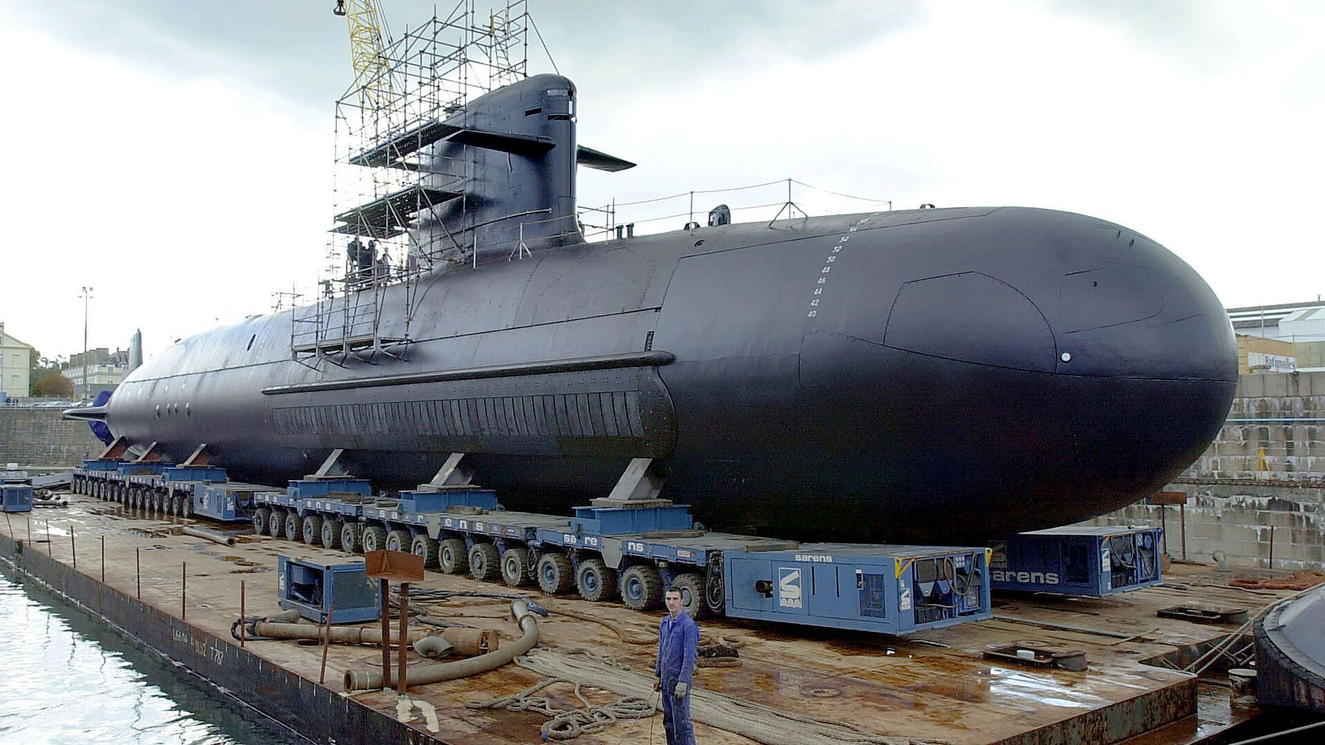Un submarino francés (imagen referencial) - Sputnik Mundo, 1920, 17.09.2021