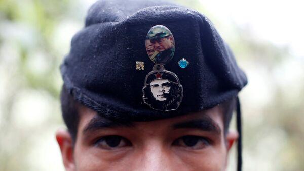 El miembro de FARC - Sputnik Mundo