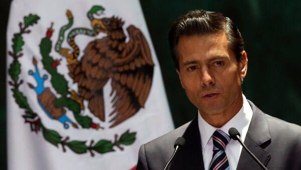 Enrique Peña Nieto, presidente mexicano - Sputnik Mundo