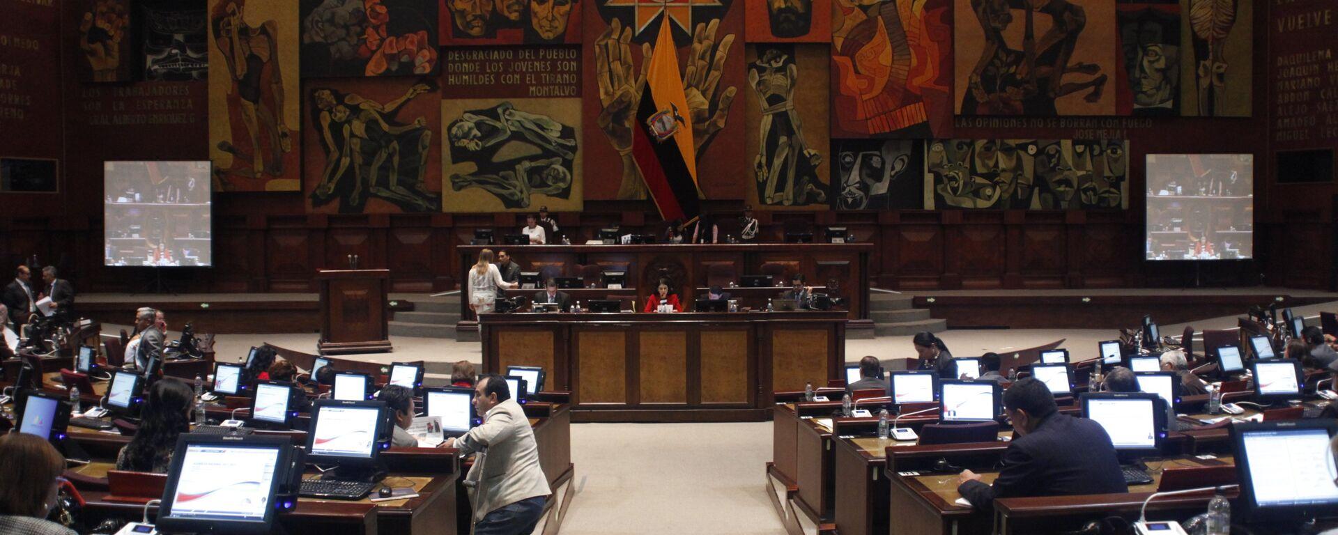 La Asamblea Nacional de Ecuador (archivo) - Sputnik Mundo, 1920, 17.12.2020